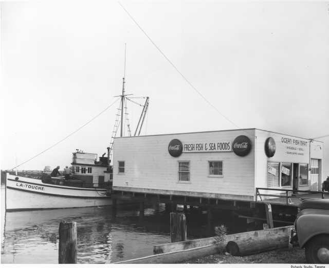 Ocean Fish Mart, November 1951