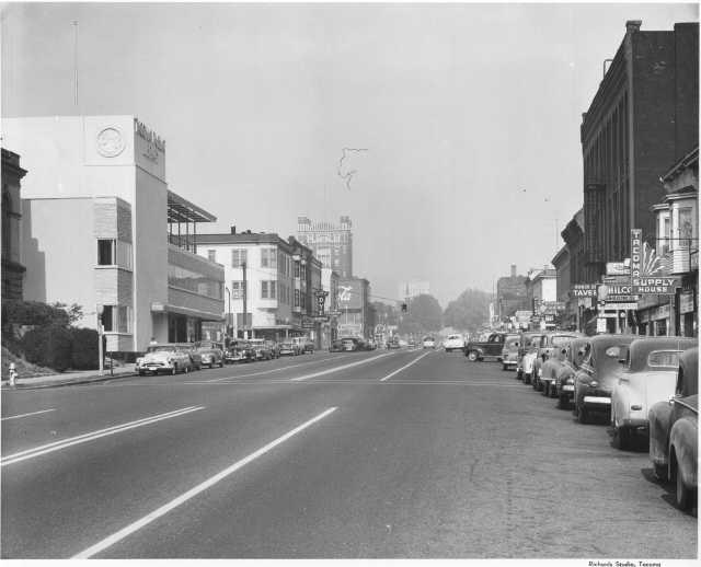 Tacoma Avenue South, October 1952