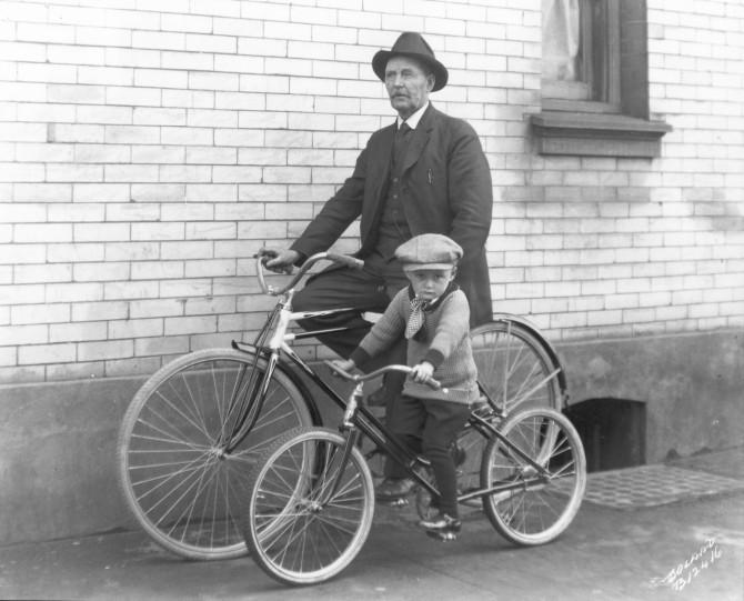 child-biker