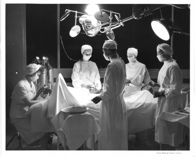 Image of a hospital operating room