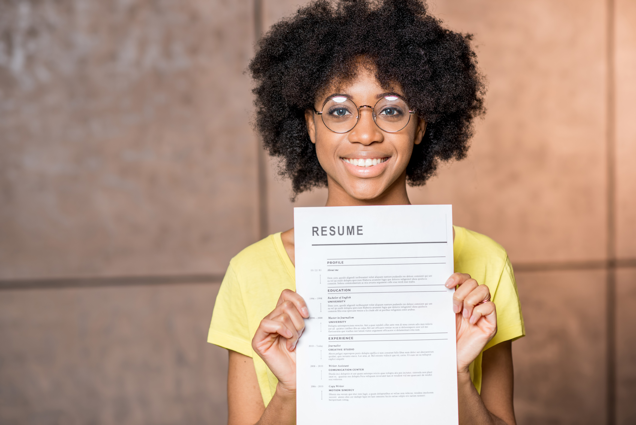 Discover what makes a great resume.