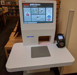 Tacoma Public Library SelfCheck Machine